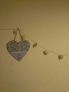 Corazón de madera #manualidadeschic #manualidades