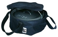 Features:  -Padded bottom.  -Heavy duty self healing yellow zipper.  -Polypropylene straps.  -Fits 12'' diameter ovens.  -Made in USA.  Product Type: -Carry bag.  Country of Manufacture: -United State