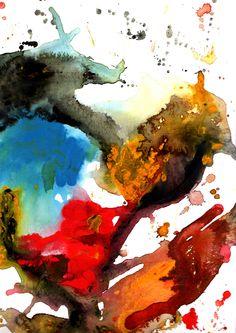 Lassen Sie sich ein Original Acryrell auf Malpappe von Conny Wachsmann malen.  Maße 30 x 40 cm. Wird incl. Passepartout versendet.