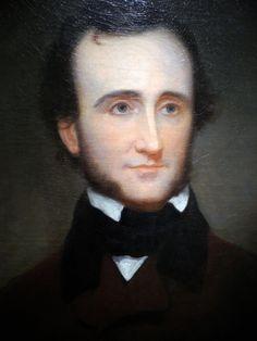 https://flic.kr/p/9c8v8G | Edgar Allan Poe Portrait by Samuel Osgood at National Portrait Gallery Washington DC | Edgar Allan Poe (Poet) Portrait by Samuel Osgood, 1845  Smithsonian National Portrait Gallery Washington DC