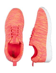 Coral Space Dye Jogger Sneakers