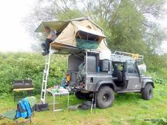 Land Rover Camping Lifestyle