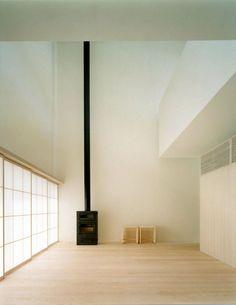 hiroshi yoshikawa - house in minamikasugaoka osaka 2003 Minimalist Architecture, Minimalist Interior, Modern Interior Design, Interior Architecture, Glass Floor, Japanese Interior, Decoration, Interior Decorating, House Design