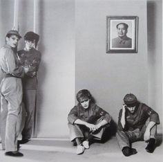 Japan (the band). Mick Karn, Richard Barbieri, David Sylvian and Steve Jansen.