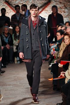 Missoni Fall 2012 Menswear