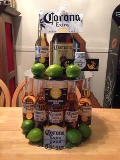 Corona Beer Cake for Fathers Day
