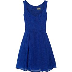 Zac Posen Embroidered organza dress ($1,700) ❤ liked on Polyvore featuring dresses, vestidos, short dresses, blue dresses, women, blue mini dress, blue dress, embroidery dresses and short blue dresses