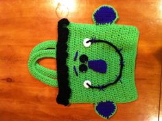 Crochet Halloween Trick or Treat bag
