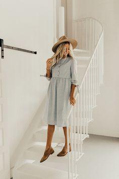 Nursing Friendly Easter Dress | ROOLEE