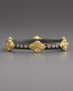 Armenta Cravelli Cross Diamond Ring, Silver - Neiman Marcus