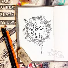 Balzer Designs - I've been diligent about keeping up with my daily InkTober lettering. Check out what I've been up to.