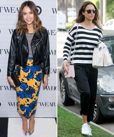How These Celebrities Wear Summer Fashion Pieces in New York and Los Angeles - Stripes  - from InStyle.com