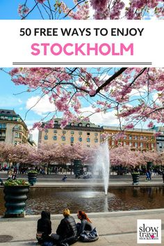 Traveling on a budget in Stockholm? 50 free ways to enjoy Sweden's capital c… Traveling on a budget in Stockholm? 50 free ways to enjoy Sweden's capital city. Europe Travel Tips, European Travel, Budget Travel, Places To Travel, Travel Destinations, Travel Things, Euro Travel, Shopping Travel, Vacation Places