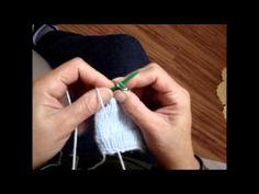 Hilda Eroles - vídeo 51 - Meias de tricô Gisela - YouTube