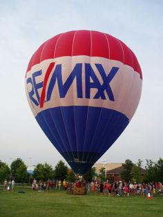 RE/MAX balloon in Münster, Germany #REMAX #TakeFlight #HotAirBalloons