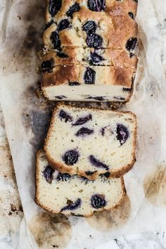 earl grey concord grape and pear bread