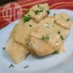 Salsa de Pollo con Cebolla de Verdeo @ allrecipes.com.ar