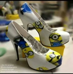 Love those shoes I would wear them all the time!!! minions
