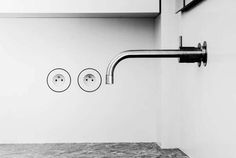 Lap(r)is is an integrated socket by @Van den Weghe that seamlessly blends into the wall: http://arc.ht/1GOuYCA