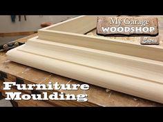 (23) Making Cabinet Moulding - YouTube