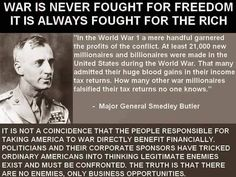 Smedley Darlington Butler (July 30, 1881 – June 21, 1940) was a United States Marine Corps major general, the highest rank authorized at that time, and at the time of his death the most deco…