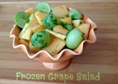 Frozen Grape Salad