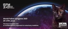 Explore the 'Ever-Complex Cat' With the ISFM 2021 World Feline Congress Registration is now open for the ISFM 2021 World Feline Congress, taking place as a virtual event from 25-27 June. Through a full programme of inspiring virtual talks and lectures, including more than 30 hours of high-quality CPD, ISFM will be exploring 'The ever-complex cat: a multidisciplinary approach to feline medicine' in their 2021 World […] #Cat, #Cats, #Katze, #Katzen, #Katze