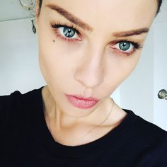 Lauren German and her gorgeous eyes and her majestic freaking eyebrows.