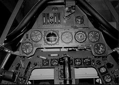 Cockpit of a Fw-190