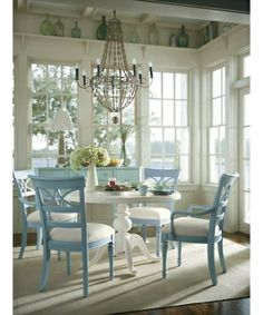 Stanley Furniture » Dining Chairs » Coastal Living CottageSea Watch Arm Chair, Toasted Coconut Fabric