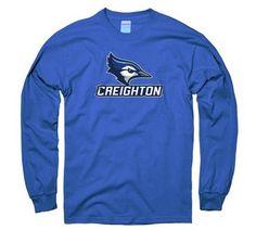 Medium Royal Under Armour NCAA Creighton Bluejays Youth Short Sleeve Tech Tee