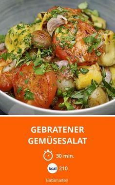Gebratener Gemüsesalat - smarter - Kalorien: 210 kcal - Zeit: 30 Min.   eatsmarter.de
