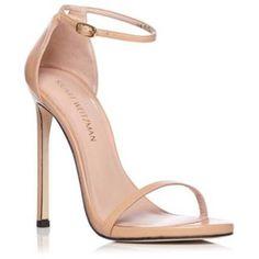 Stuart Weitzman (1.320 BRL) ❤ liked on Polyvore featuring shoes, sandals, heels, sapatos, stuart weitzman, stuart weitzman shoes, heeled sandals and stuart weitzman sandals