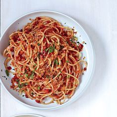 This Mediterranean dish from Marcie Turney is quick, simple and utterly delicious.    More Terrific Pasta Recipes   ...