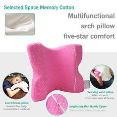 Cuddle Pillow, Bed Rest Pillow, Spooning Pillow, Couple Sleeping, U Shaped Pillow, Reading Pillow, Side Sleeper Pillow, Foam Pillows, Silk Pillow