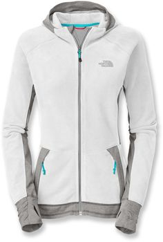 The North Face Laura Hybrid Hoodie with thumb gaiters