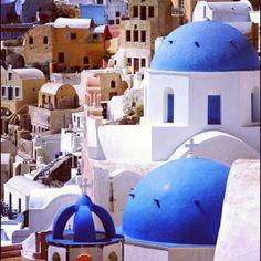 Greece; My Dream.   Φηρά (Fira) in Κυκλάδες, Κυκλάδες