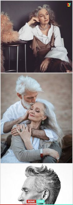 10+ Stunning Elderly Models That You Will Love #elderlymodels #bodypositivity #oldage #beautiful #bemethis #photography