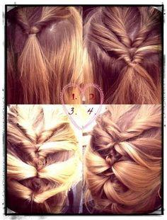 Крученая французская коса