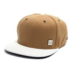 30b872ef13c The Arrival 6-Panel Hat    Camel + White