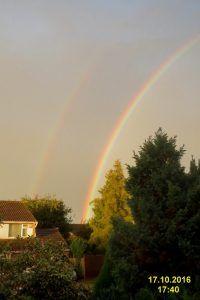 Rain And A Rainbow - A Poem By Lorna Malla