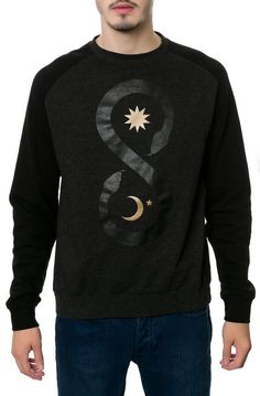 Sect Supernal Sweatshirt Kunda in Black - $65