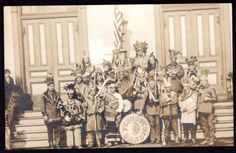 Penobscot-Indians-of-Old-Town-Maine-American-Indian-Band-Real-Photo-Postcard