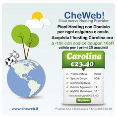 promo #hosting www.cheweb.it/web-hosting