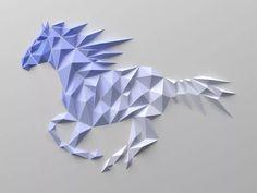 геометрические скульптуры из бумаги заказать: 2 тыс изображений найдено в Яндекс.Картинках Origami Wall Art, Origami Paper Art, Origami Art, Paper Crafts, Oragami, Paper Wall Art, Diy Wall Art, Geometric Sculpture, Origami Design