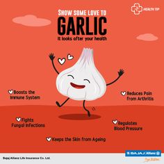 Forget Vampires, garlic can ward off deadlier things: diseases! Read on to learn how a little bit of garlic every day can save you from a lifetime of health problems. #HealthTips