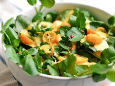 Watercress Salad with Kumquat Dressing by Brooklyn Supper