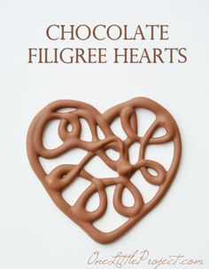 Best chocolate filigree hearts recipe on pinterest for Chocolate filigree templates