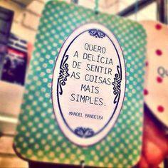O simples nem sempre é o mais simples.
