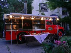 The Rolling Stonebaker Pizza Truck - often spotted in Beverly Shores and at the Chesterton European Market